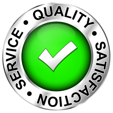 satisfied customer: Label Quality,satisfaction,service