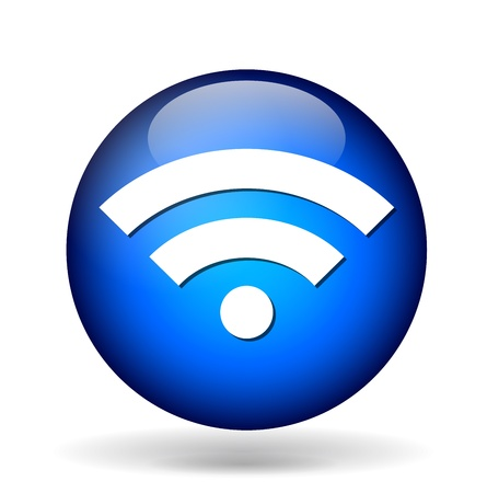 Wi-fi icon Stock Vector - 21322406