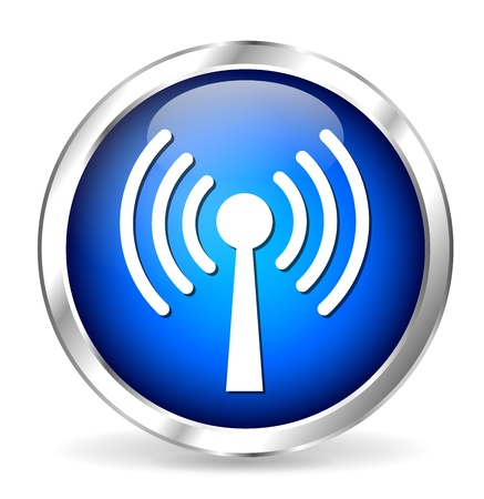 clic: antenna icon Illustration