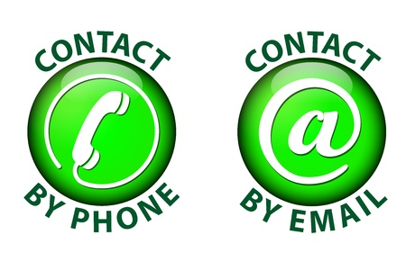 contact icon Stock Vector - 21423629