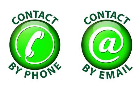 contact icon Stock Vector - 21423629