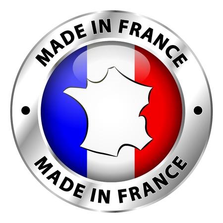 flag france: Fabriqu� en France