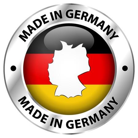 bandera de alemania: Hecho en Alemania