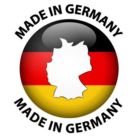 Made in Germany Stock Vector - 21423672