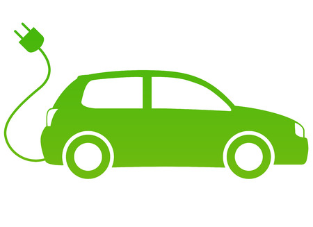Elektrische auto Stockfoto - 22325152