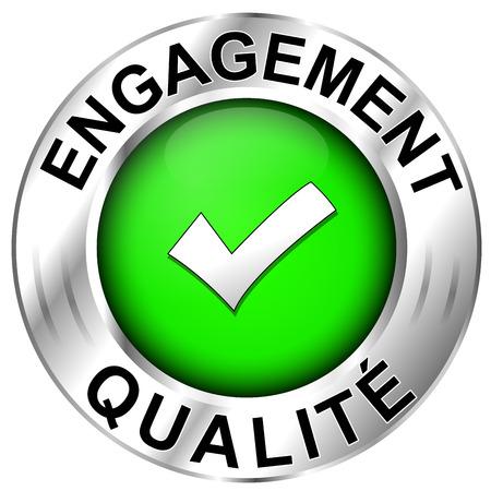 spokojený: Ikona francouzsky kvalita