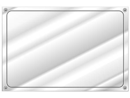 Metal plate Stock Vector - 22325188