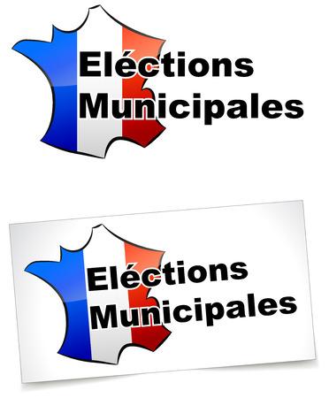 municipal: municipal elections Illustration