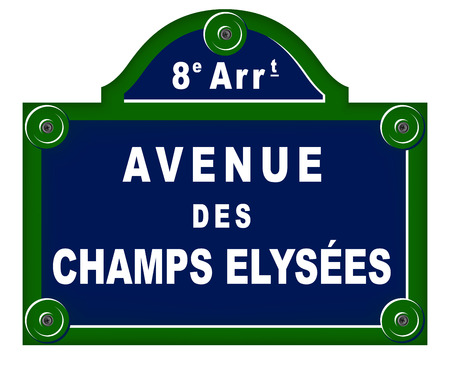 borough: Parisian avenue plates