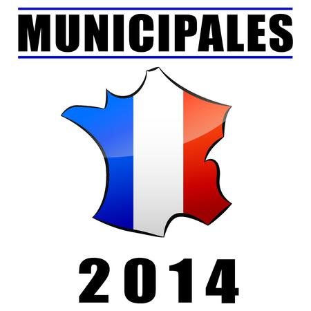 voter: Municipales 2014 Illustration