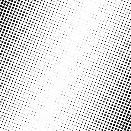 Vector illustration de points noirs sur fond blanc Vecteurs