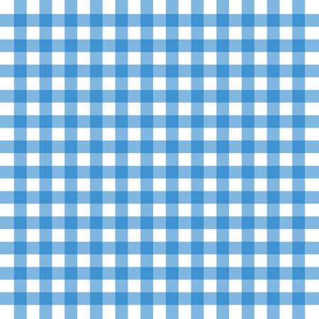 Vector afbeelding van een blauwe oude tafelkleed achtergrond