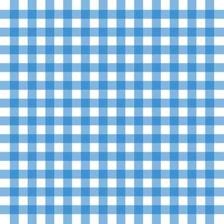 Vector illustration of blue old tablecloth background