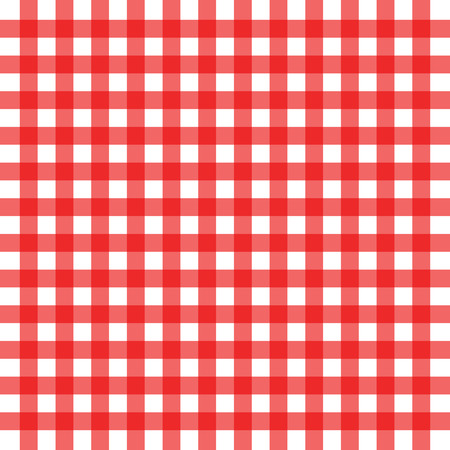 Vector illustration of red background picnic concept Vector