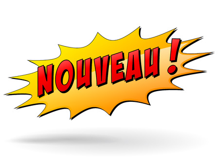 novelty: French translation for new star icon concept