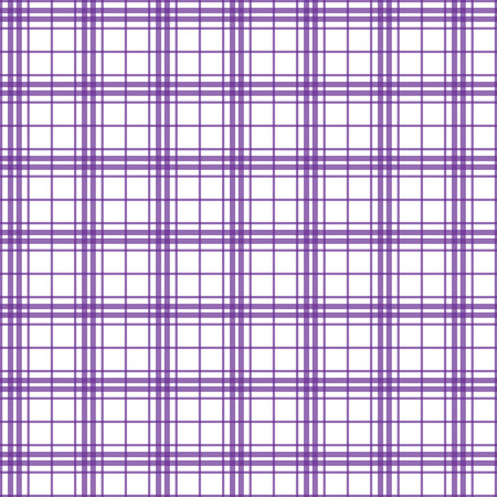 Vector illustration of purple plaid background concept Vector