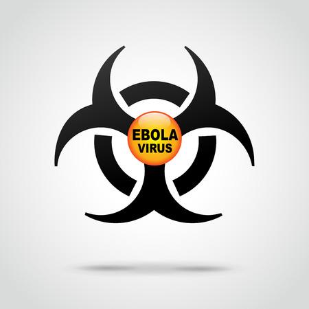 quarantine: illustration of abstract background for ebola virus Illustration