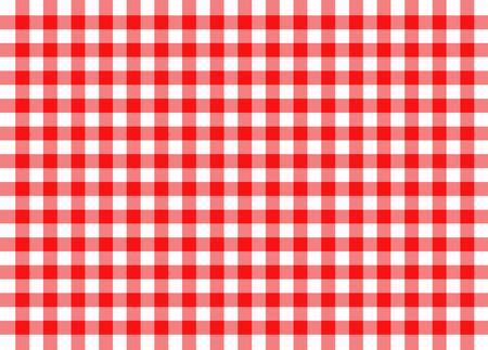 Illustration der roten gingham traditionelle Konzept Hintergrund Standard-Bild - 34005452