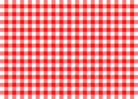 illustration of red traditional gingham concept background Banco de Imagens - 34005452