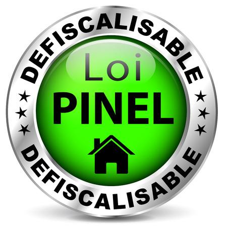 집에 대한 면세 법의 프랑스 아이콘 일러스트