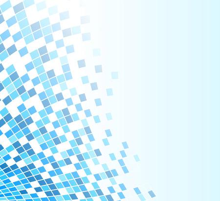 soft: illustration of soft blue abstract design background