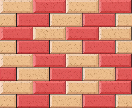 Illustration of bricks background concept