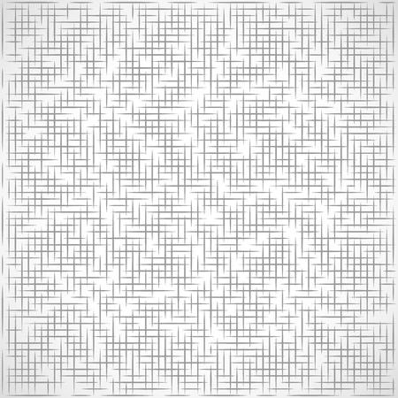 Illustration of squared lines background concept Illustration