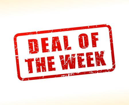 Illustration of deal of the week text