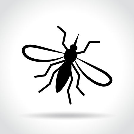 Illustration of mosquito icon