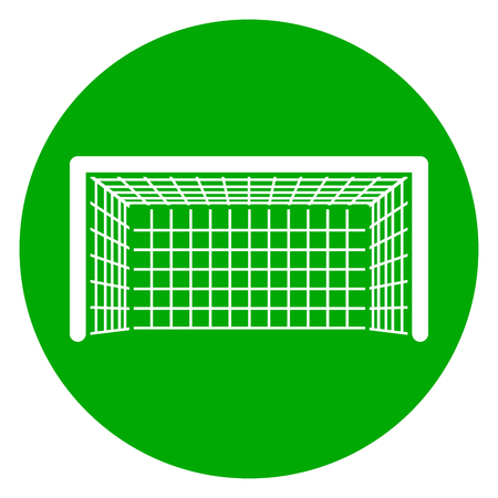 Goal icon illustration. Illustration