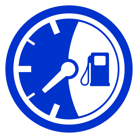 Tankanzeige Symbol Abbildung. Standard-Bild - 85354210