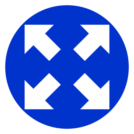 Arrows icon illustration.