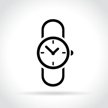 Illustration of watch icon.