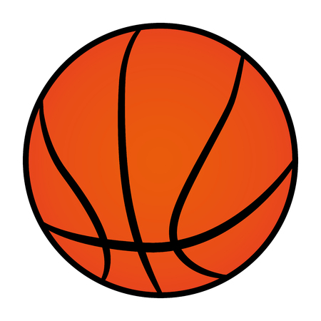 Illustration de balle icône sur fond blanc Banque d'images - 86132588