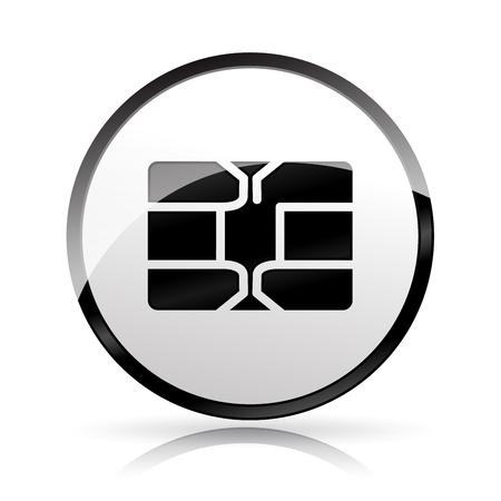 Chip icon illustration