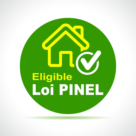 Illustration of pinel french law green icon Иллюстрация