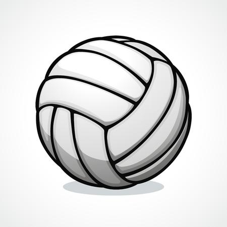 Vector illustration of volleyball ball icon design Stock Illustratie