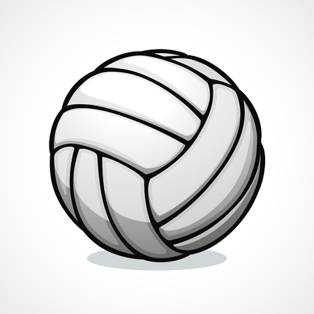 Vector illustration of volleyball ball icon design 向量圖像