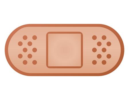 Vector illustration of plaster bandage color design Stockfoto - 106662676