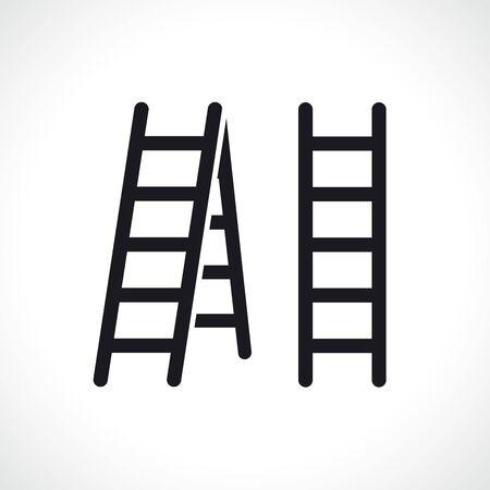Vector illustration of ladder symbol icon design Ilustrace