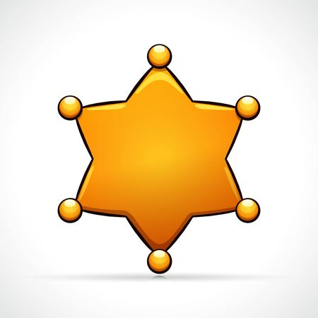 Vector illustration of star symbol icon design