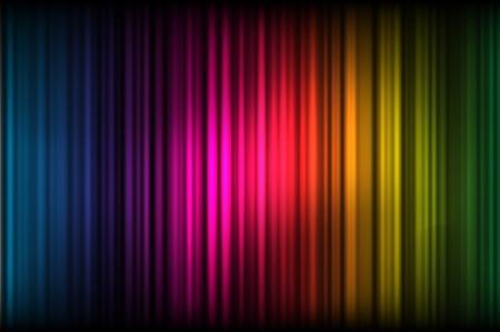 hues: Illustration of abstract colored hues