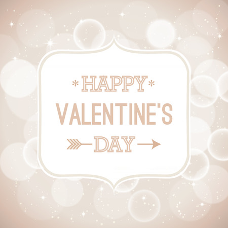 Valentines card. Vector illustration. Vector