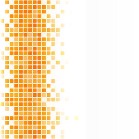 equalizer: Vector template for your presentation. Illustration