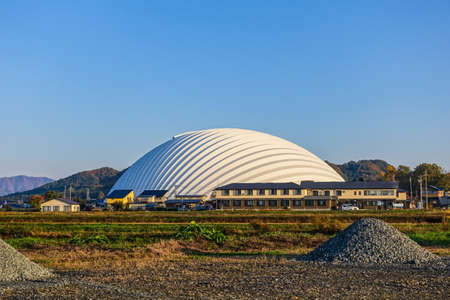 The Odate Tree Sea Dome is one of the largest wooden buildings in Japan using 25,000 Akita cedar trees. 에디토리얼