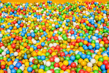 Large outdoor ball pool