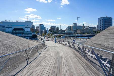 Yokohama Pier to Yamashita Park