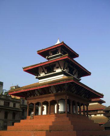 kathmandu: There are stupas and temples in Kathmandu Durbar Square.