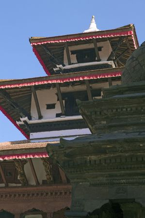 stupas: There are stupas and temples in Kathmandu Durbar Square.