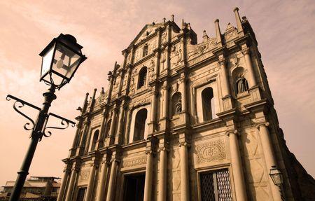 macau: The Ruins of St. Pauls is the major tourist attraction in Macau.